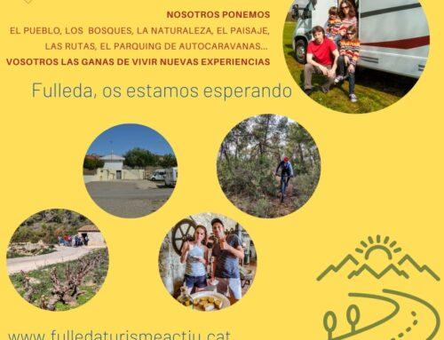 Fulleda Turisme Actiu, el portal de acceso a más de 500 kilómetros de caminos para disfrutar y descubrir